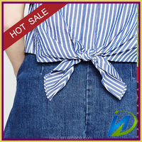 100% organic cotton dye yarn poplin fabric manufacture