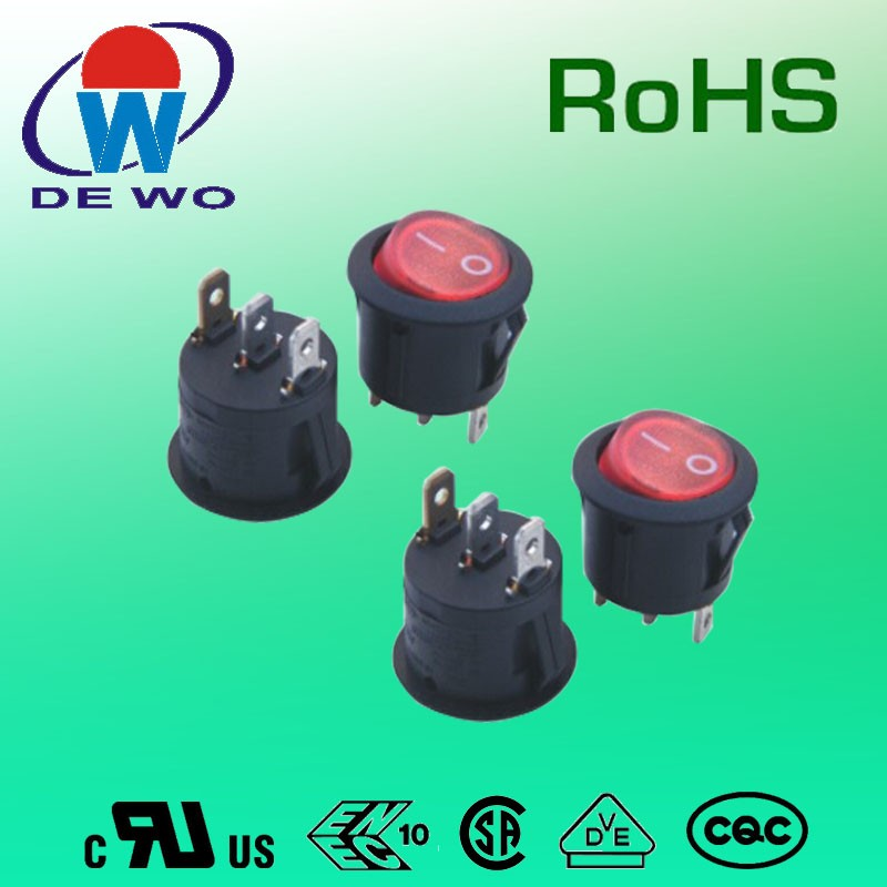 Electronic components rocker switch t85