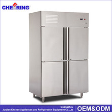 2016 hot cheap but good wholesale used double door refrigerator and freezer