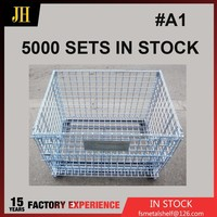 Folding Heavy Duty Wire Mesh Storage Cage