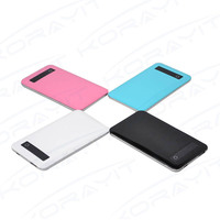 Slim External Cell Phone Battery Pack 4000mAh