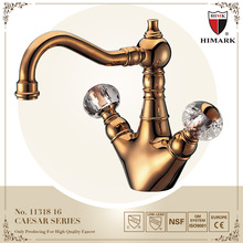 Old fashioned single hole bathroom sink faucets for wholesale