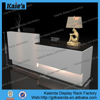office reception table/reception table design/reception table