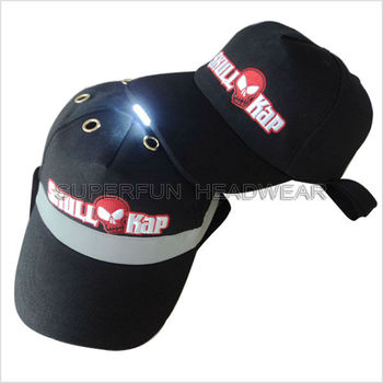 safety LED lighting helmet bump Impact-Resistant caps and hats