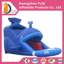 The Whale Inflatable Slide,Giant and nice inflatable dry slide with high quality commercial