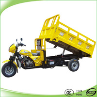 200cc water cooling dump tricycle 3 wheeler