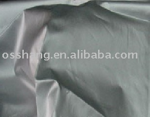 Polyester Taffeta with Silver-Coat