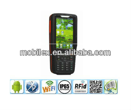 Android 4.1 Rugged Industrial Handheld data collecter terminal PDA supports WI-FI, Bluetooth, GPS(MX9900)