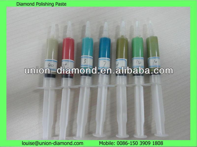 synthetic diamond polishing grinding paste compound