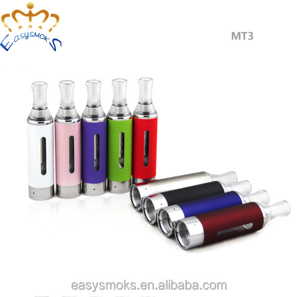 wholesale e cig mt3 clearomizer Colorful EVOD Battery evod mt3 starter kit e-cig
