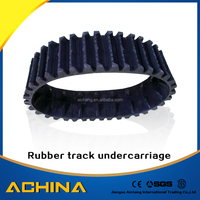 hot sale rubber track undercarriage mini excavator parts