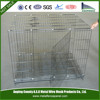 Metal Black Wire Folding Dog Cat Crate