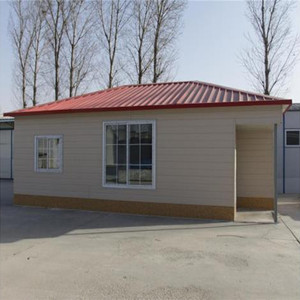 prefabricated steel structure modern cheap prefab home