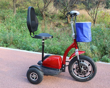 cheap price lightweight disability 3 wheel electirc moped mobility scooter for old people