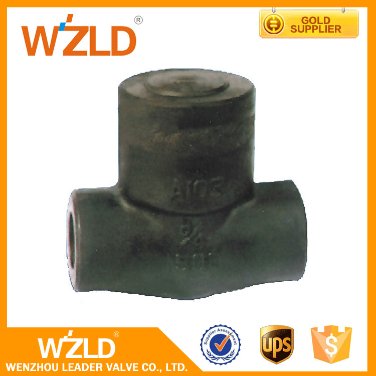 manufacturer Wenzhou China stainless steel Forged steel brass High Pressure Spring Loaded Check Valve CE standard Low Price