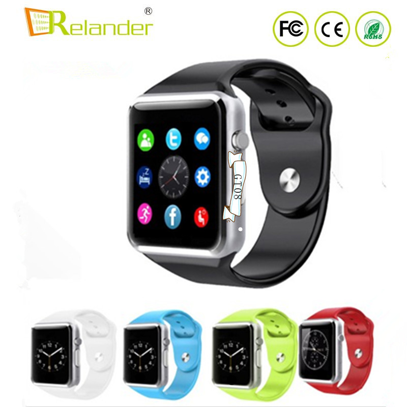 Wholesale WristWatch BT4.0 Smart Watch Sport Pedometer sim card <strong>A1</strong> smartwatch
