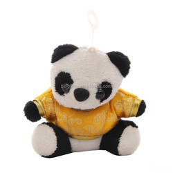 Factory supply most cute big eyes panda,soft panda bear stuffed toys