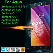 0.3mm Front Premium Tempered Glass Screen Protector Film For ASUS Zenfone 2 ZE500CL ZE551ML 5 Laser ZE500KL ZE550KL Go MA