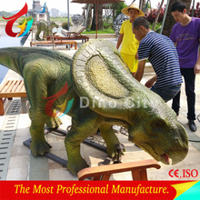 Outdoor high simulation wild attraction animated dinosaurs model