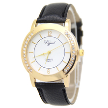 brand factory online shopping G433 leather strap lady quartz analog watch