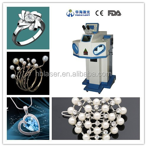 Huahai laser hot sale jewelry laser welder for jewelry mould repair all metal laser welding machine