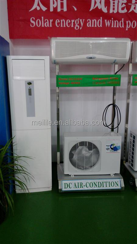 DC 48V air conditioner standing type 18000BTU solar powered air conditioning DC-52GW