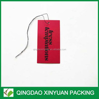 Garment tags paper hang tags for wigs/hair extension
