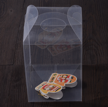 Clear Saleable Plastic Packing Jewelry Box with Film