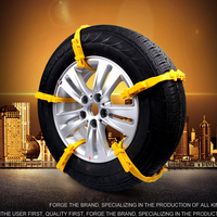 2016 New Emergency Plastic Snow Chains