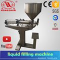 small type electric manual bottle liquid/paste filling machine