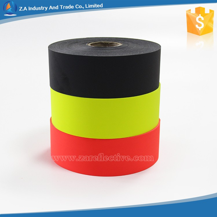 Colorful High Reflection Polyester/Cotton Material Waterproof Reflective Fabric for Safety Vest/Clothing/Jacket