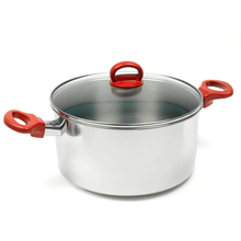 Silver Stainless Steel Non-stick Dutch Oven