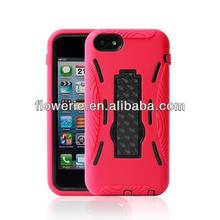 FL2533 2013 Guangzhou hot selling 3 in 1 combo case with stand for iphone 5c