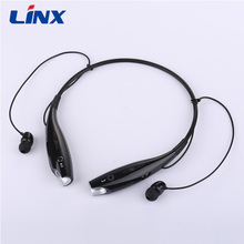 Neckband style blue tooth headset cheap bluetooth stereo headphones