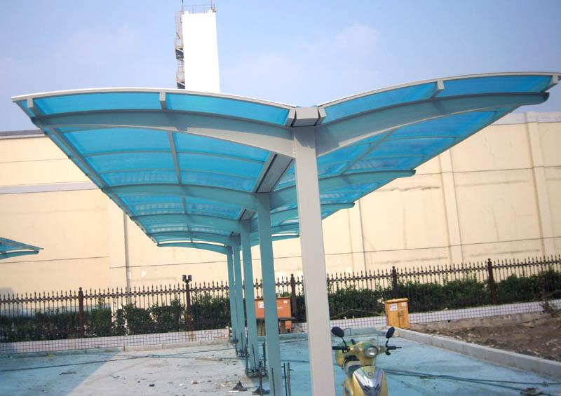 china price hot sale manufacture polycarbonate solid sheet aluminum frame carport