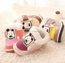 baby shoes soft and warm winter shoes dog kids winter shoes