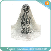 China wholesale vintage style lace wedding dress african print fabric tulle lace fabric