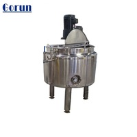 Stainless steel 1000L detergent dispersion tank /shampoo emulsifying machine/ soap mixing tank