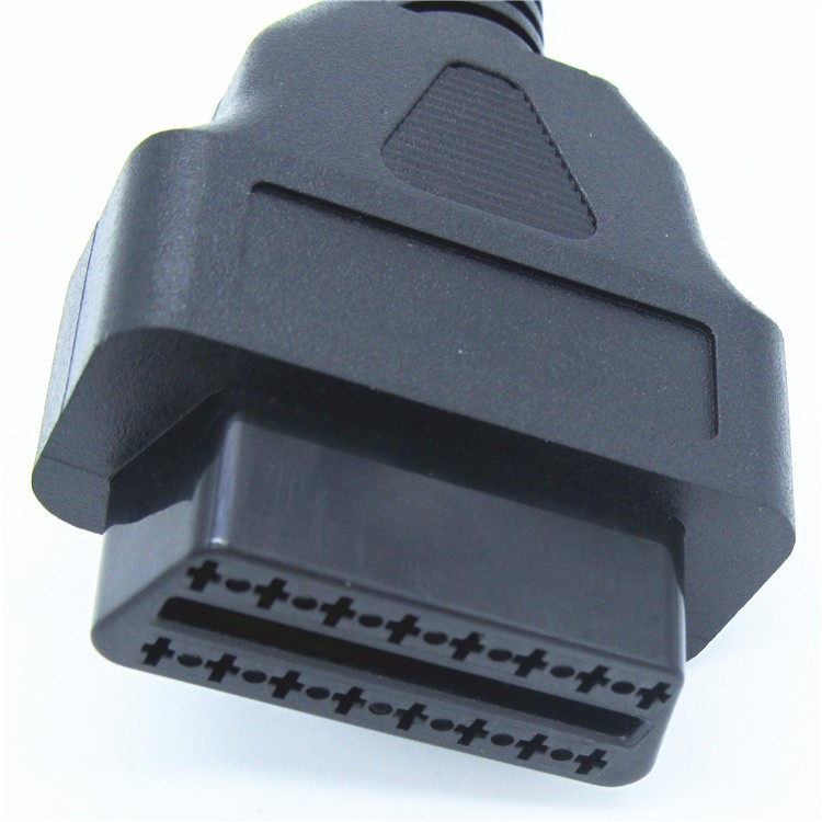 Car diagnostic tools cable OBD2 16pin Female Connector to Open OBD Cable OBDII OBD 2 interface line for ELM327