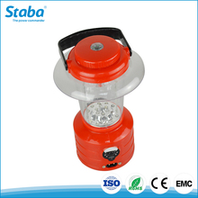 Zhongshan ABS+PC 3W 2825 LED chip portable solar powered outdoor emergency lantern