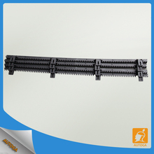 steel gear racks nylon rakcs for sliding