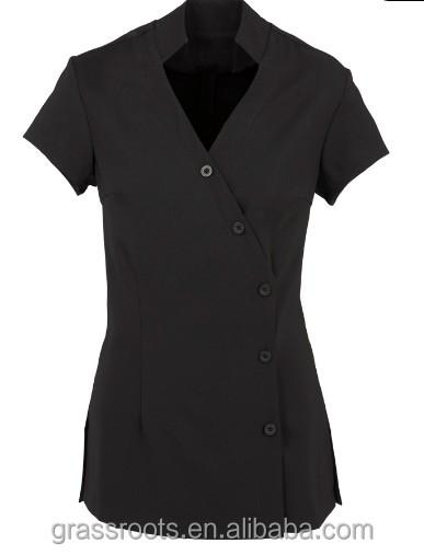Hotel uniform custom beauty spa uniform newest 100 cotton for Spa uniform cotton