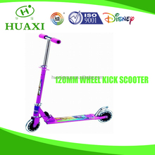 2 wheel scooters double pedal