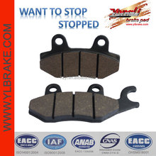 Moped brake pads,Front Motorcycle Brake Pads For Kawasaki Kazer 115 KLF 300 400 KVF 750 New,High quality motorcycle brake pad