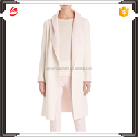 cashmere bicolor reversible knit coat women's coat