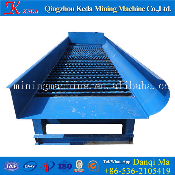 New Sand Gold Ore Selected Equipment Vibrating Chute For Sale