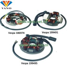 Vespa 186974 199491 199495 motorcycle magneto stator coil