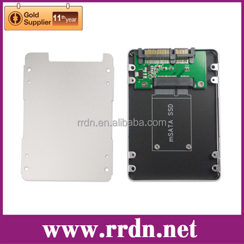 2.5 inch SATA to Mini SATA SSD Adapter Enclosure, Model:HD2570-MI