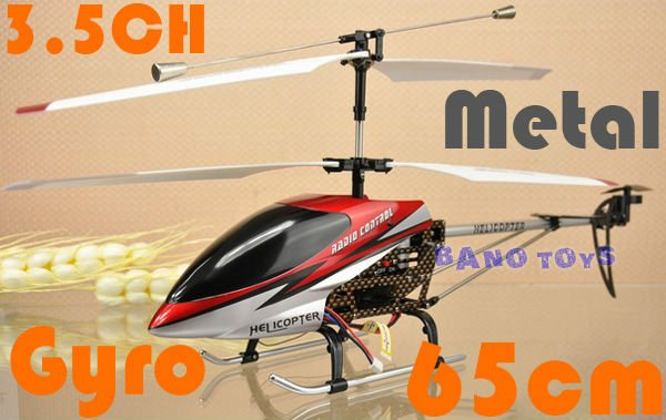 DH 9097 RC Helicopter with gyro 65CM
