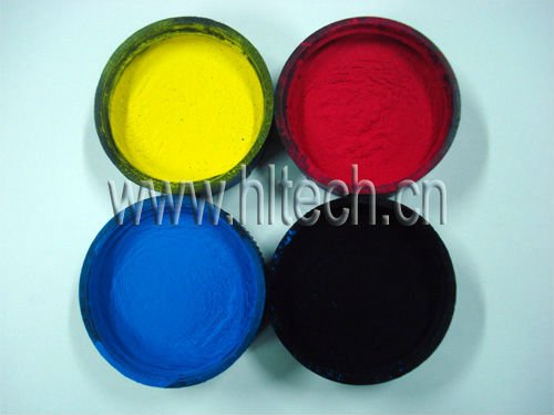 Color toner powder used for HP CP1025